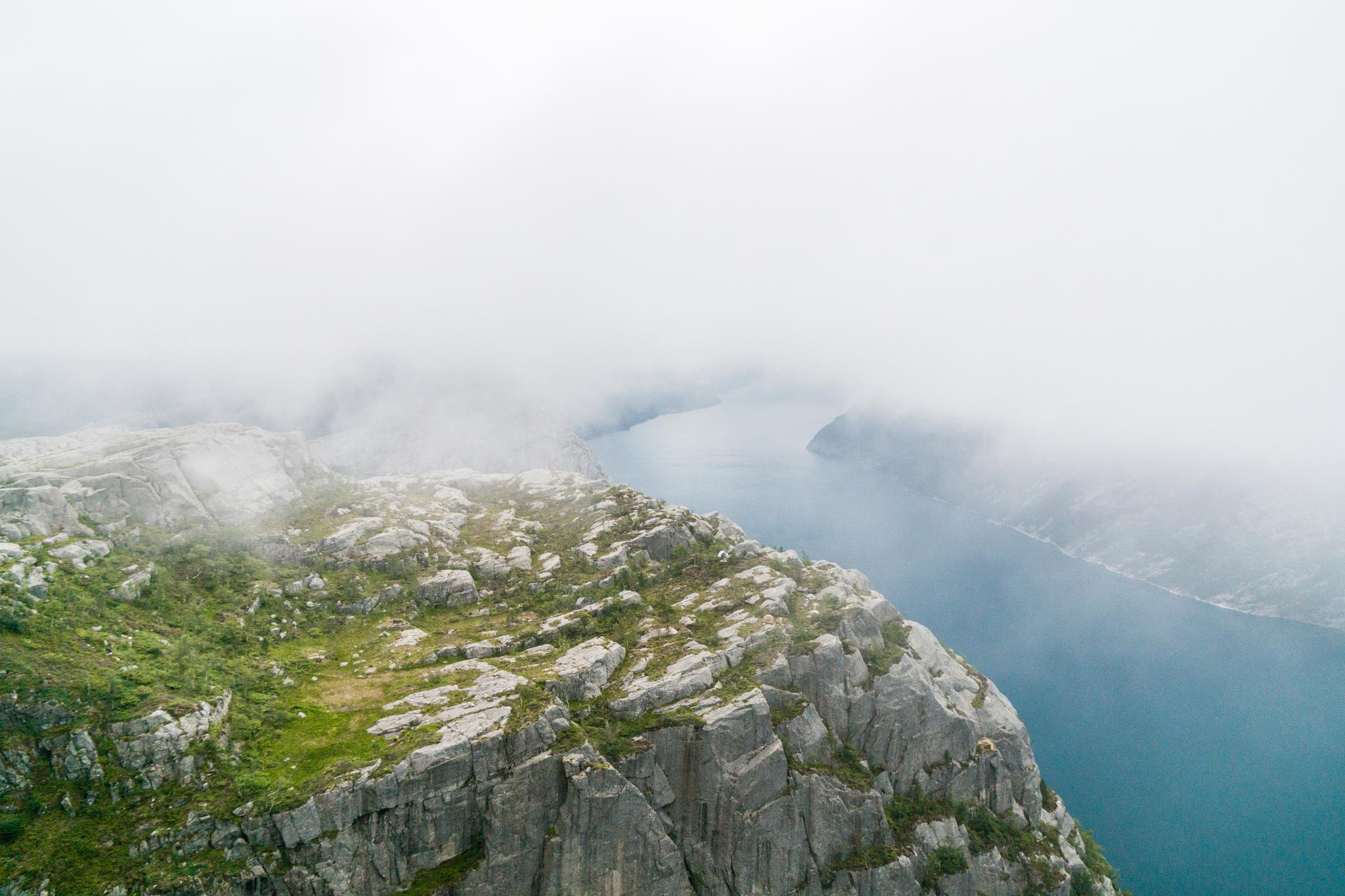 【北歐景點】朝聖挪威三大奇岩:聖壇岩Preikestolen健行紀錄 25
