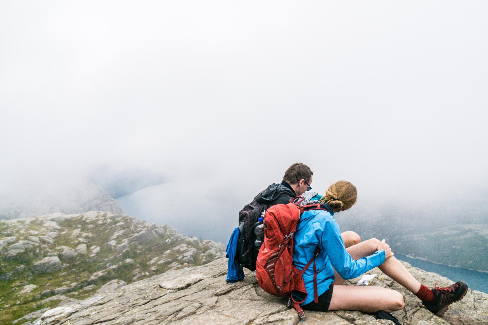 【北歐景點】朝聖挪威三大奇岩:聖壇岩Preikestolen健行紀錄 24