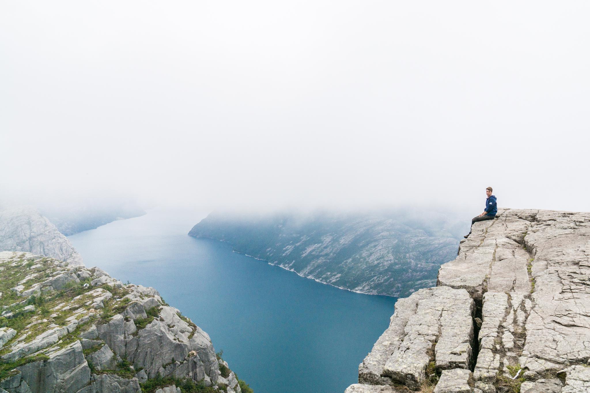 【北歐景點】朝聖挪威三大奇岩:聖壇岩Preikestolen健行紀錄 26