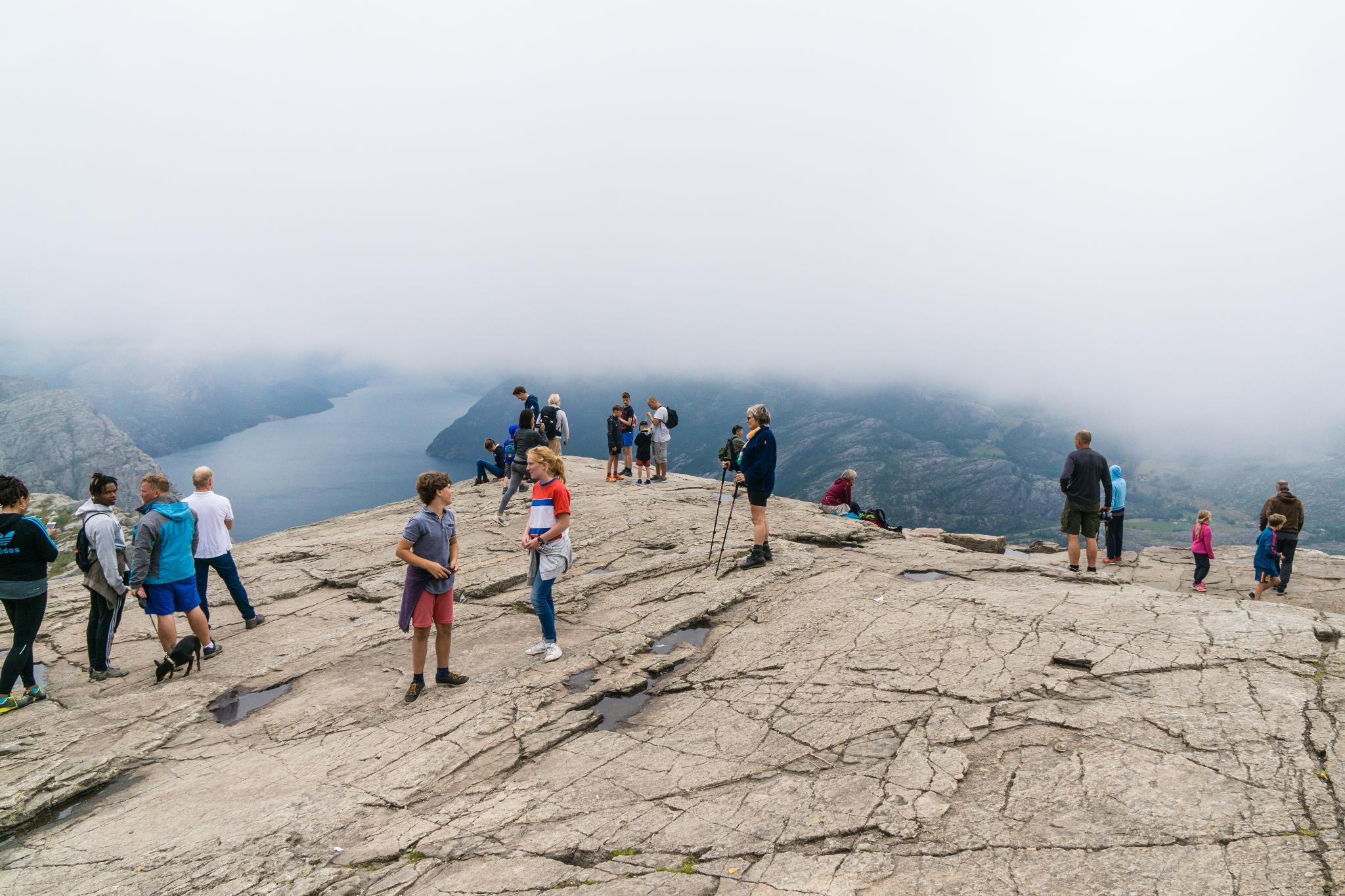 【北歐景點】朝聖挪威三大奇岩:聖壇岩Preikestolen健行紀錄 22