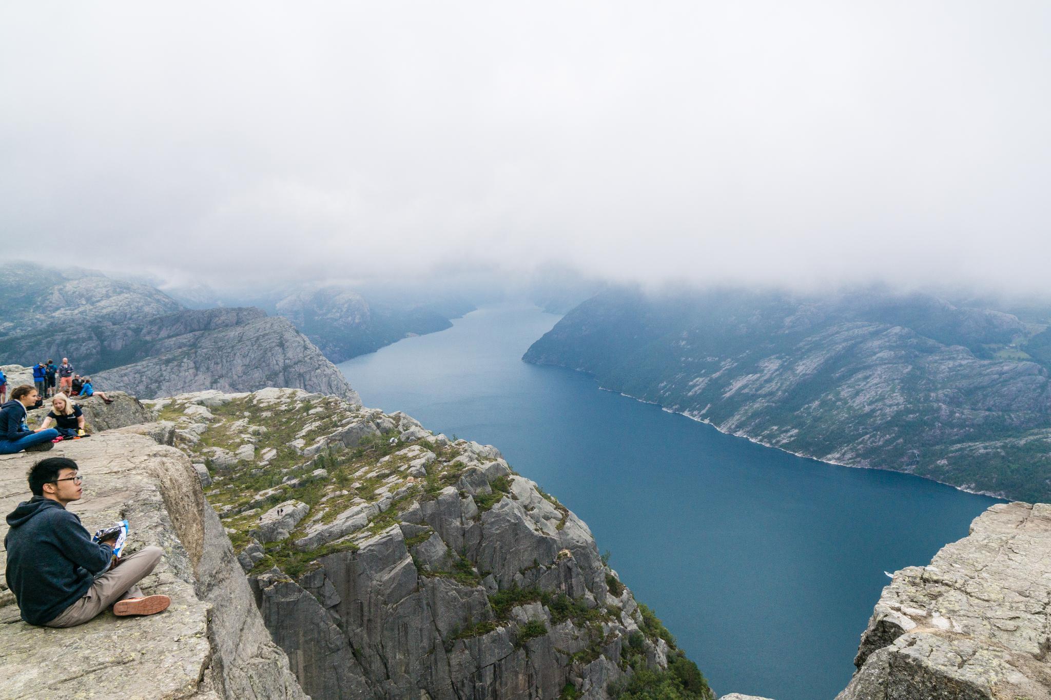 【北歐景點】朝聖挪威三大奇岩:聖壇岩Preikestolen健行紀錄 27