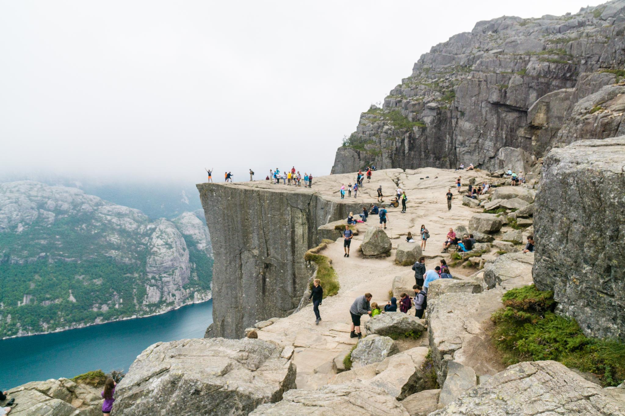 【北歐景點】朝聖挪威三大奇岩:聖壇岩Preikestolen健行紀錄 28