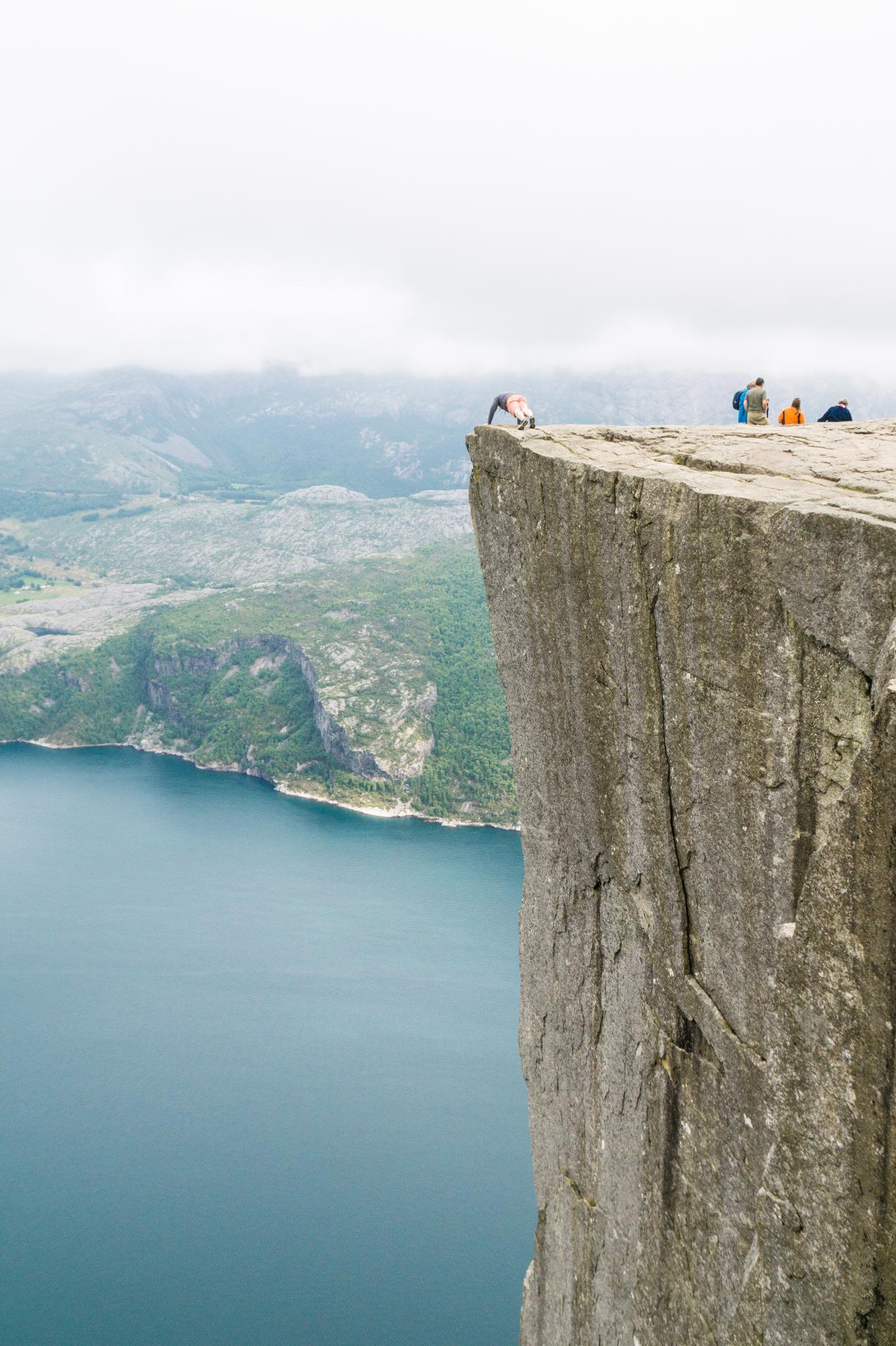 【北歐景點】朝聖挪威三大奇岩:聖壇岩Preikestolen健行紀錄 20