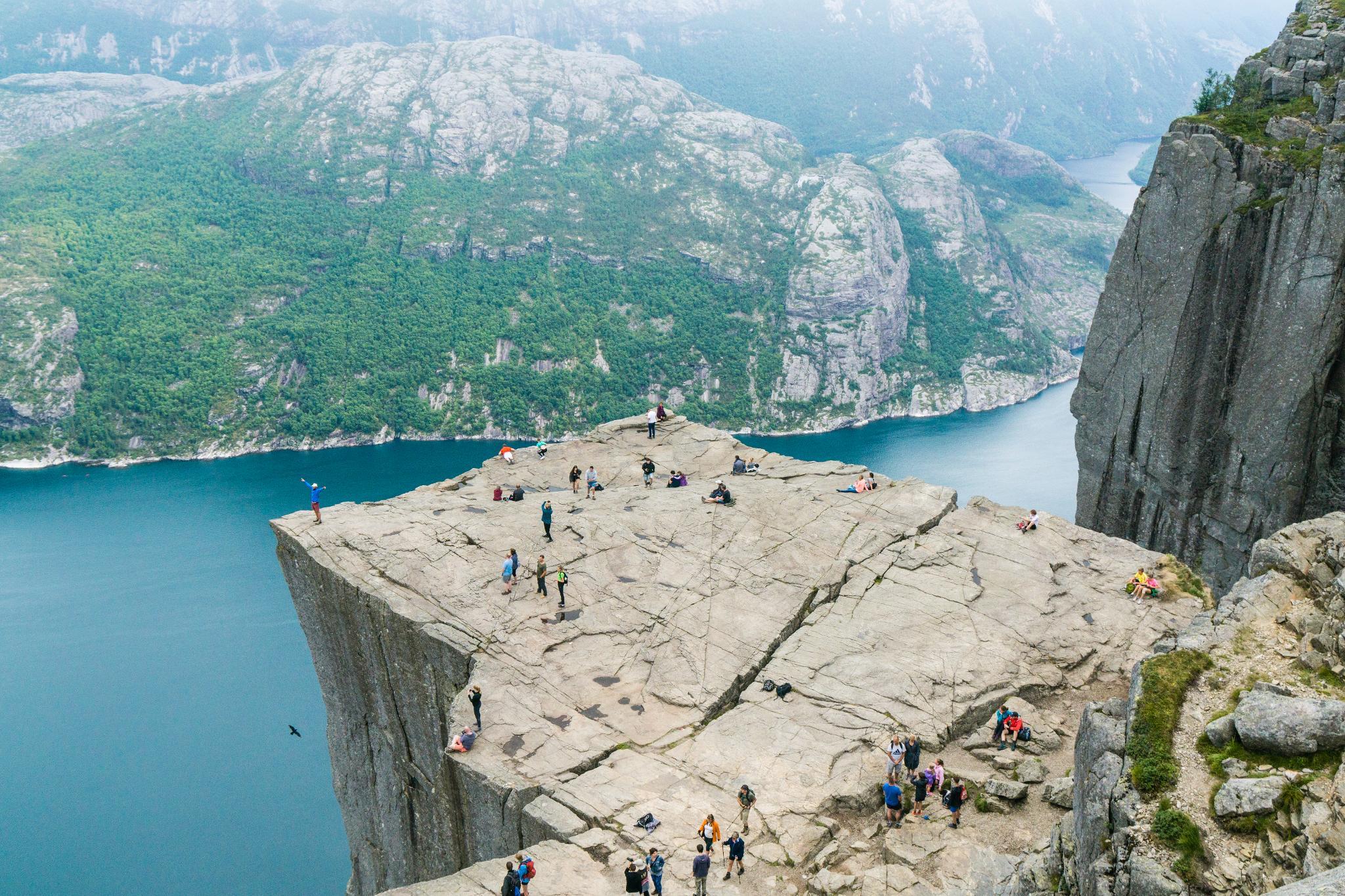 【北歐景點】朝聖挪威三大奇岩:聖壇岩Preikestolen健行紀錄 30