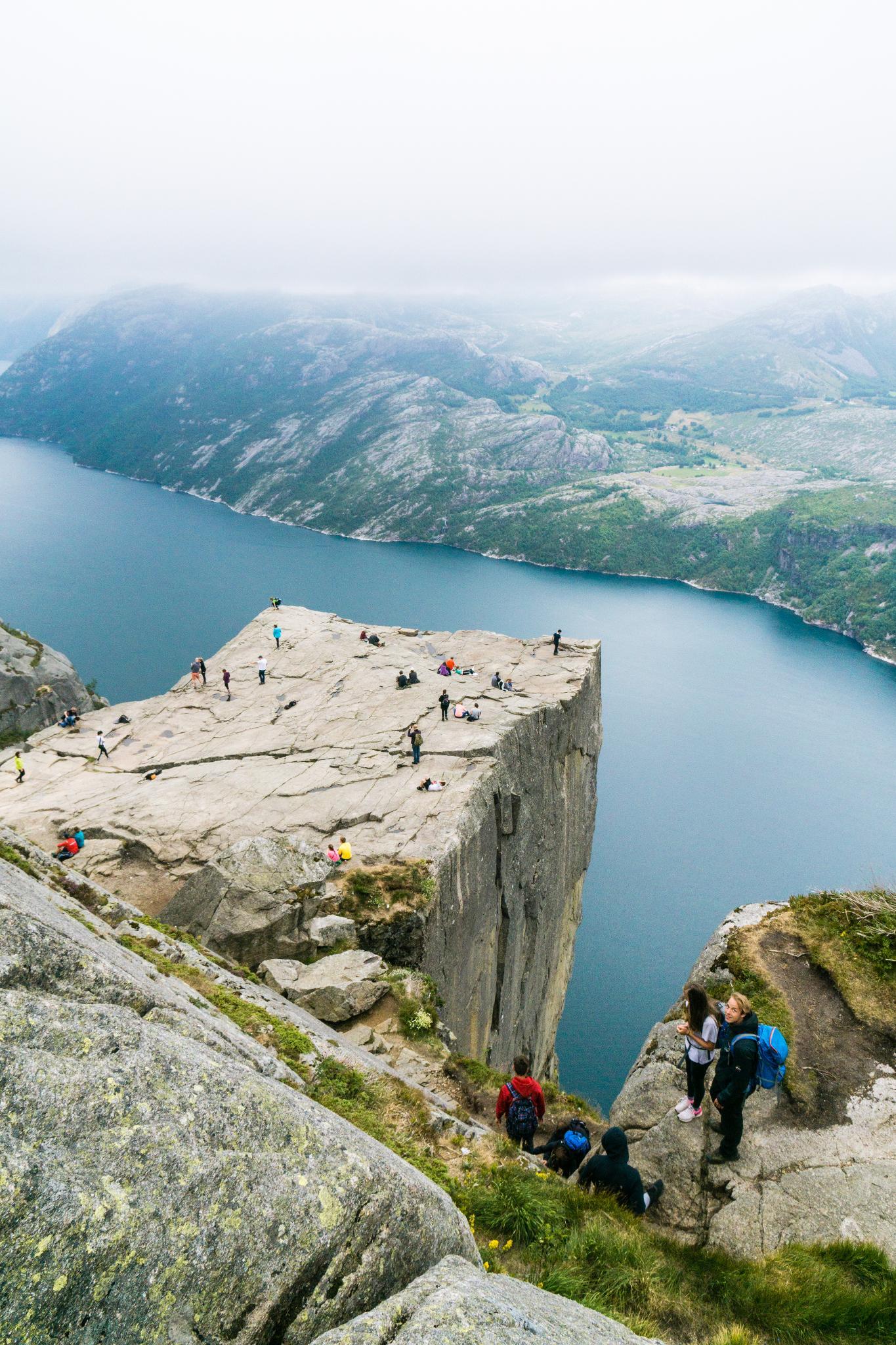 【北歐景點】朝聖挪威三大奇岩:聖壇岩Preikestolen健行紀錄 29