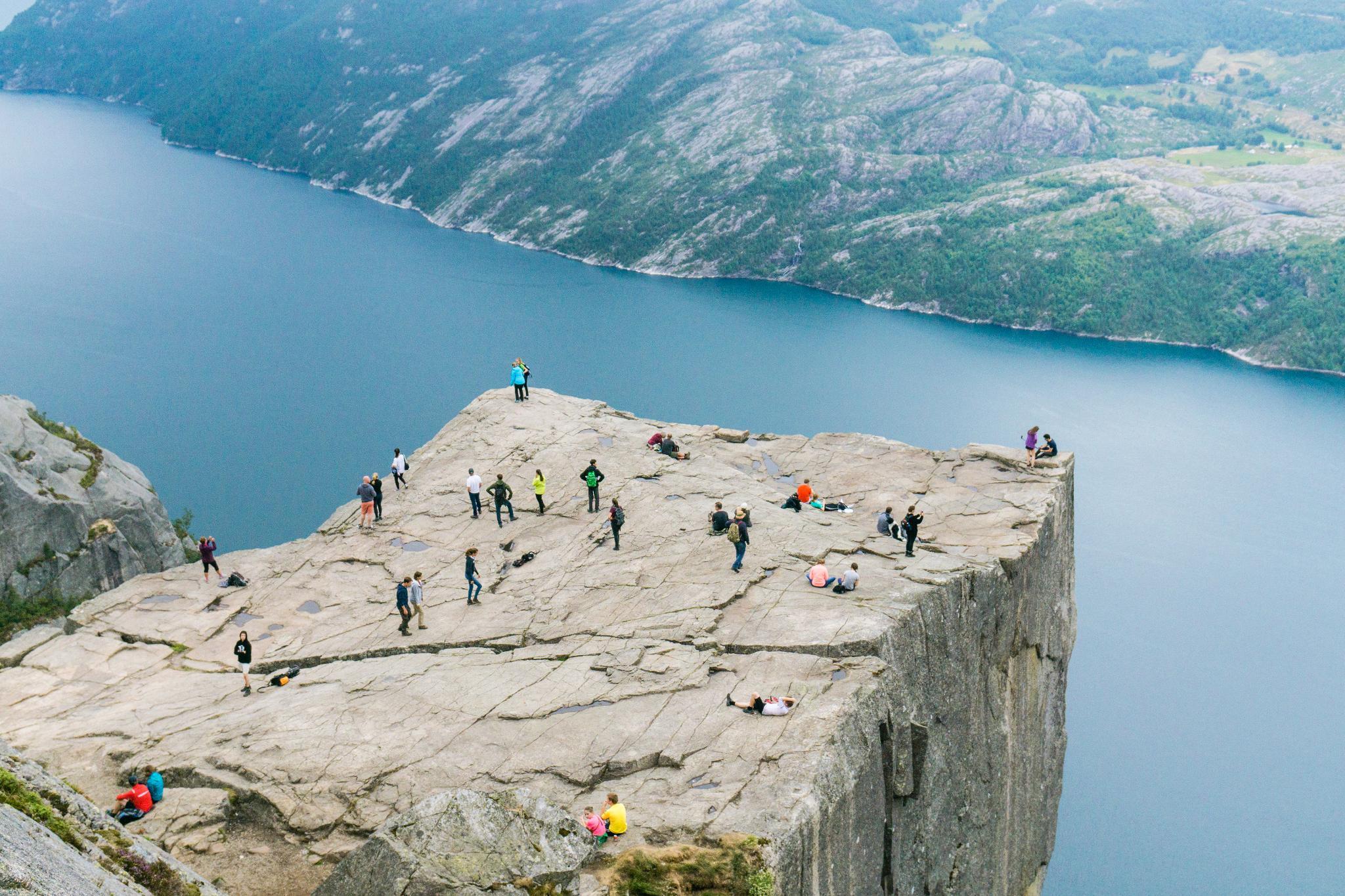 【北歐景點】朝聖挪威三大奇岩:聖壇岩Preikestolen健行紀錄 32
