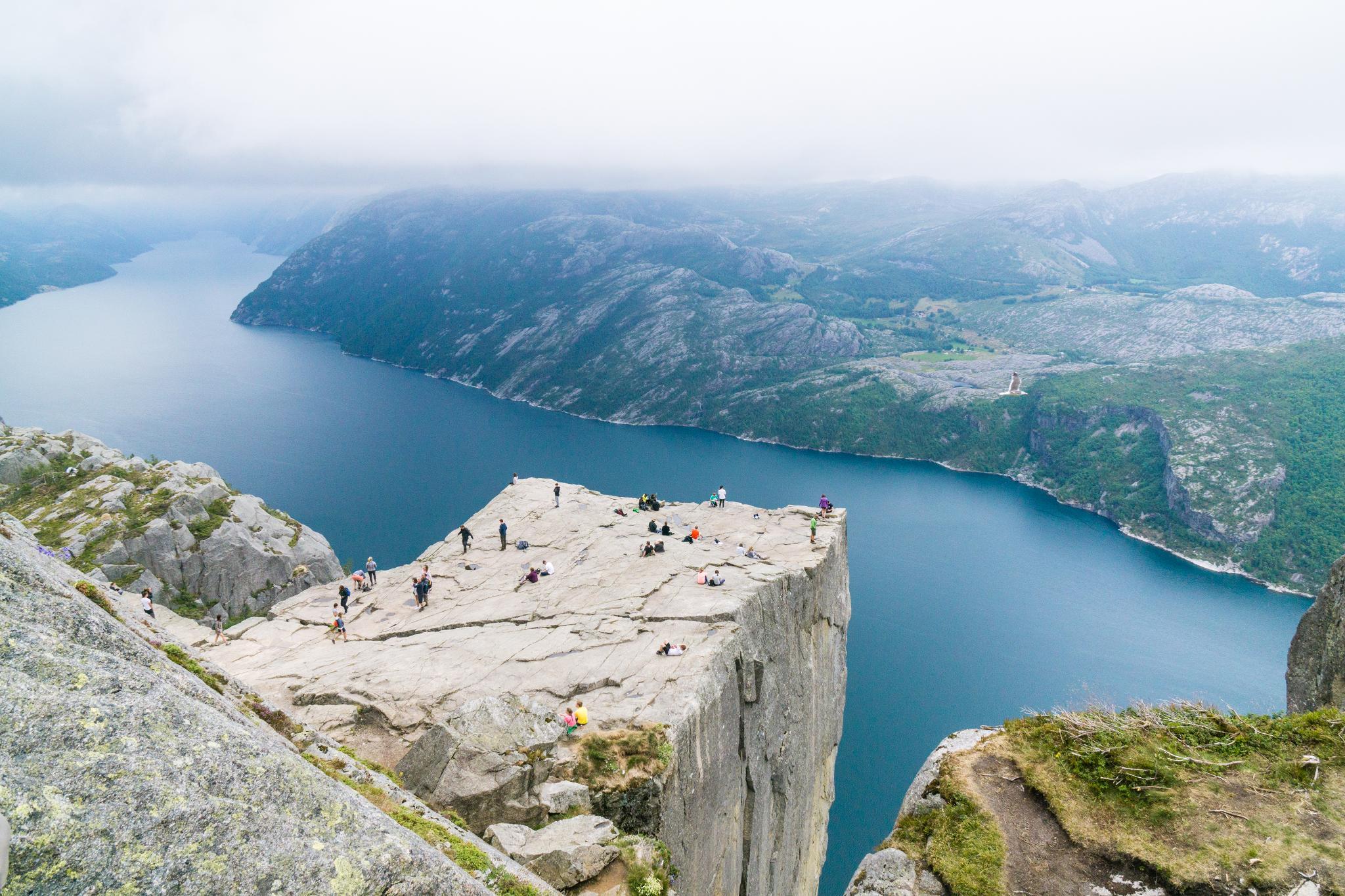 【北歐景點】朝聖挪威三大奇岩:聖壇岩Preikestolen健行紀錄 31
