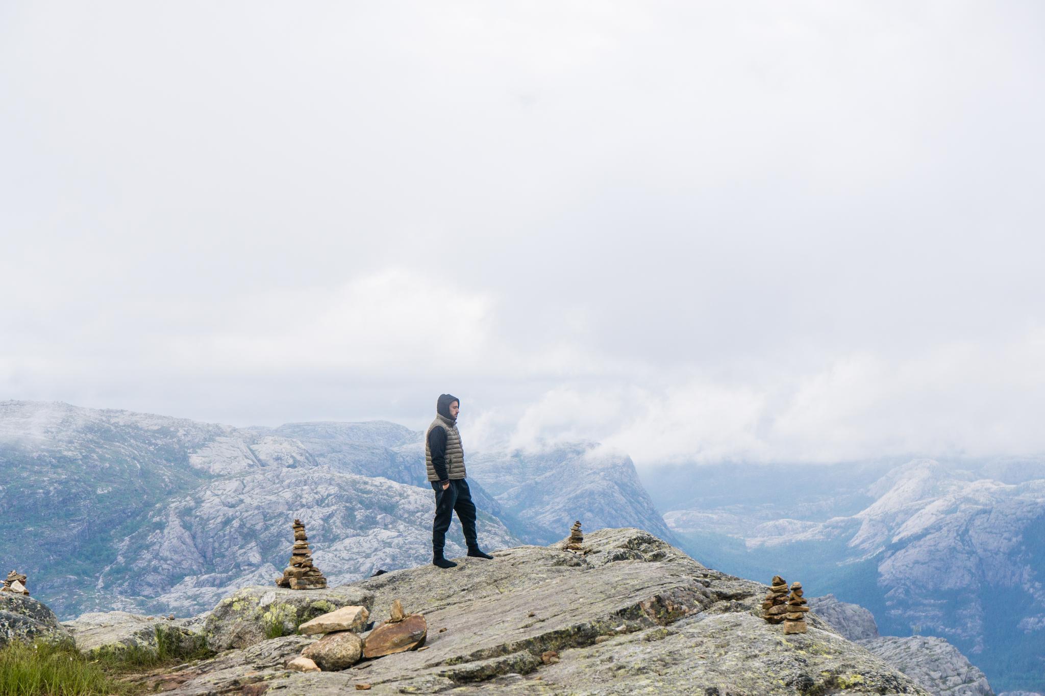 【北歐景點】朝聖挪威三大奇岩:聖壇岩Preikestolen健行紀錄 39