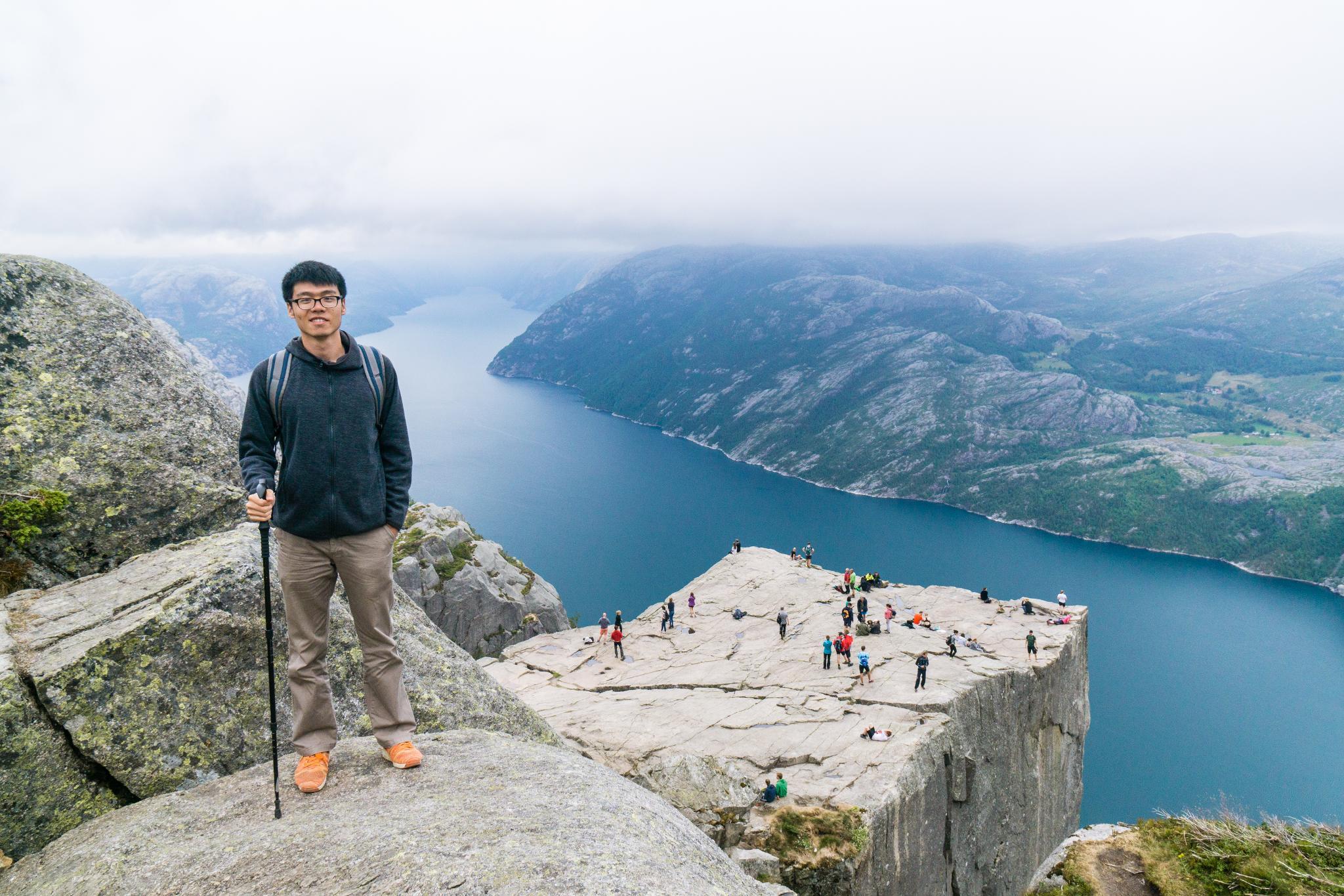 【北歐景點】朝聖挪威三大奇岩:聖壇岩Preikestolen健行紀錄 34