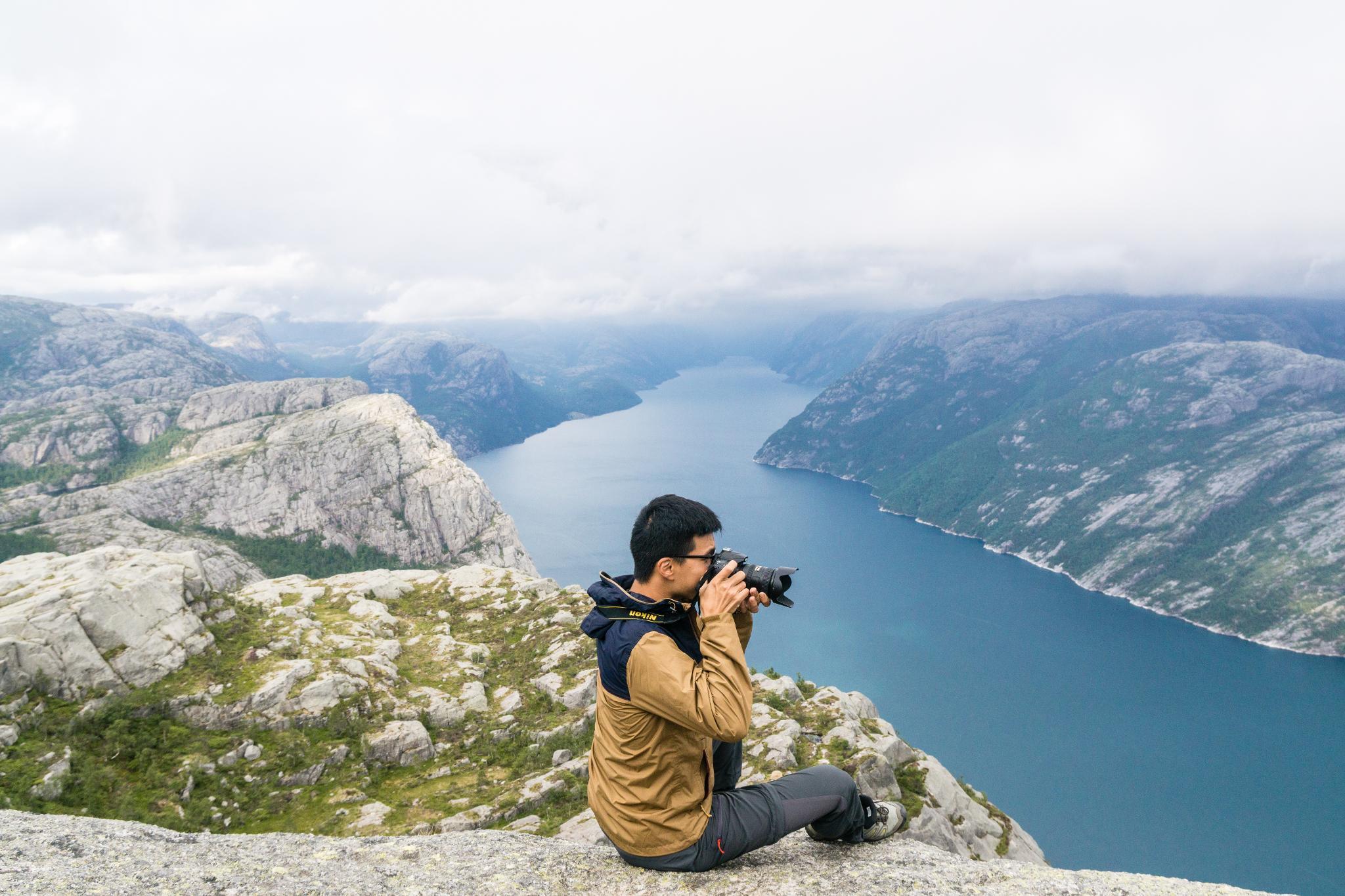【北歐景點】朝聖挪威三大奇岩:聖壇岩Preikestolen健行紀錄 36