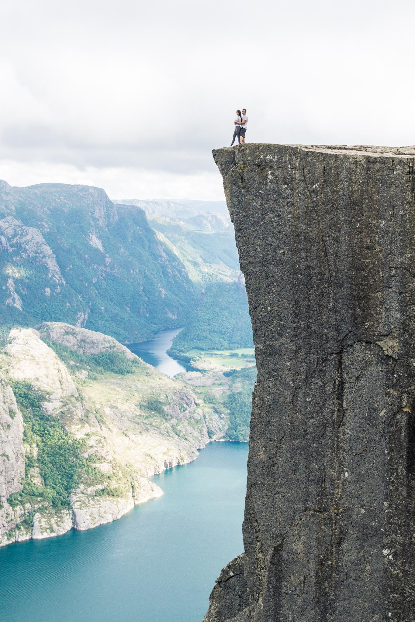 【北歐景點】朝聖挪威三大奇岩:聖壇岩Preikestolen健行紀錄 41