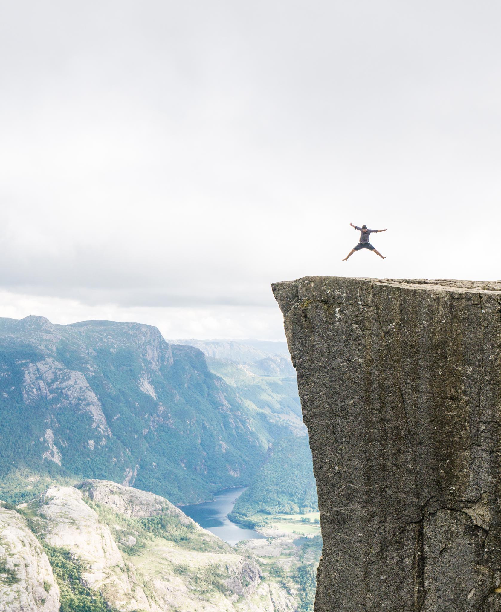 【北歐景點】朝聖挪威三大奇岩:聖壇岩Preikestolen健行紀錄 40