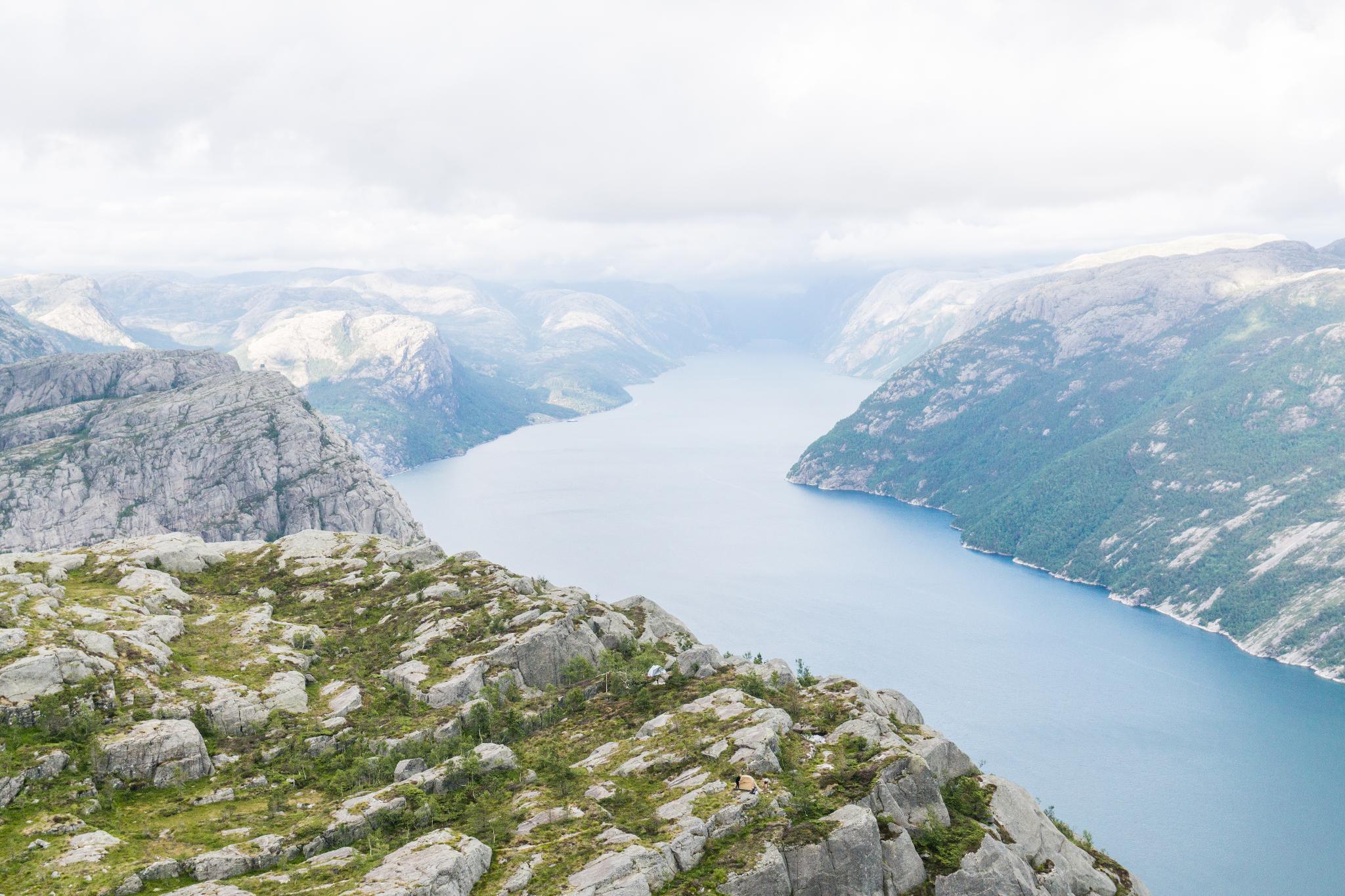 【北歐景點】朝聖挪威三大奇岩:聖壇岩Preikestolen健行紀錄 38