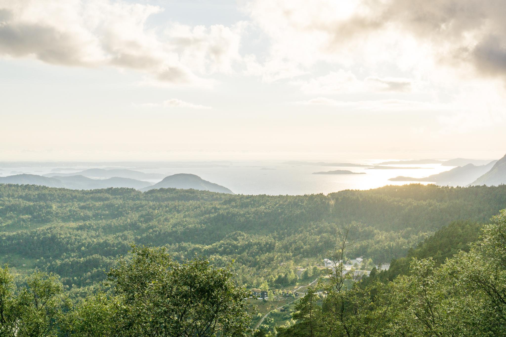 【北歐景點】朝聖挪威三大奇岩:聖壇岩Preikestolen健行紀錄 43