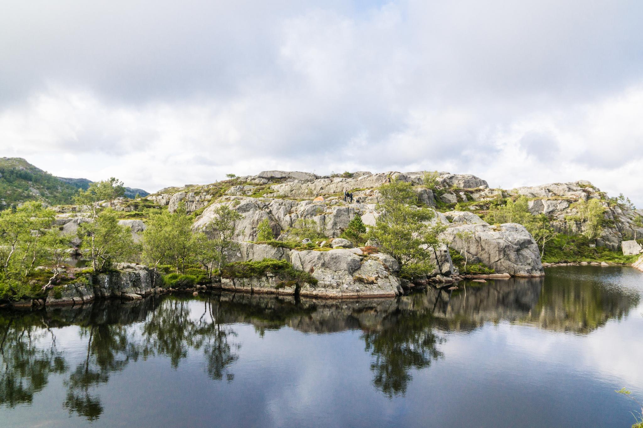 【北歐景點】朝聖挪威三大奇岩:聖壇岩Preikestolen健行紀錄 14